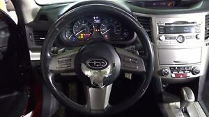 2010 11 Subaru Legacy Bare Steering Wheel Black Trim Code J20