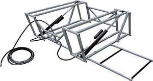 Race Car Lift Frame Steel Gray Paint Allstar Race Car Lifts Each