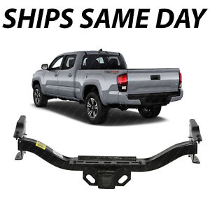 New Rear Bumper Reinforcement Bar Tow Hitch For 2016 2019 Toyota Tacoma 16 19