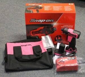 New Snap On 14 4v Microlithium Cordless Screwdriver Cts725p Pink