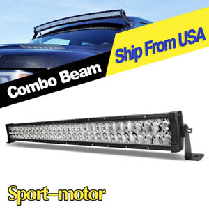 Offroad 32inch Led Light Bar Spot Flood Driving Lamp 34 For Jeep Truck Suv Ute
