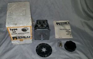 Staco Type 501 Variable Autotransformer