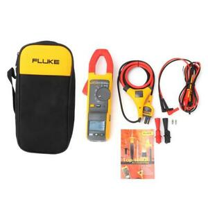 Fluke 381 Remote Display Digital Multimeter Ac dc Clamp Meter With Iflex Probe