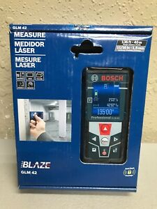 Bosch Blaze 135 Ft Laser Measure Glm 42 new