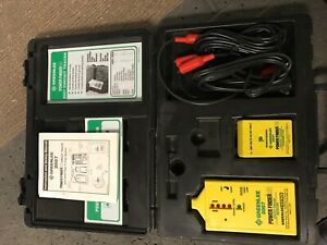 Greenlee Power Finder Circuit Tracer 2007 Mint Free Shipping