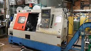 Mazak Sqt 15ms Live Tool Cnc Lathe With Tooling Included