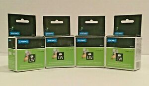 Dymo Lw 30333 Extra Small Multipurpose 2 up Labels White 1 2 X 1 Lot Of 4 Boxes