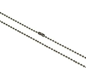 2mm Steel Ball Neck Chain For Id Cards Badge Holders Dog Tags And Key Chains
