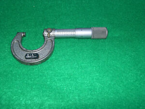 Nsk 0 1 Micrometer Numbered De2066 Carbide 0001 Lock Friction End