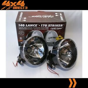 Lightforce 170 Striker Driving Spot Lights W Aftermarket 55w Hid Conversion Kit