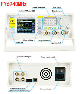 Fy6940mhz Dds Function Arbitrary Waveform Signal Generator Frequency Counter