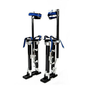 Professional 24 To 40 Black Drywall Stilts Highest Quality Taping Finishing