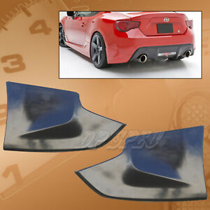 Type x Polyurethane Pu Rear Bumper Lip Aprons Spoiler For 13 14 Scion Frs
