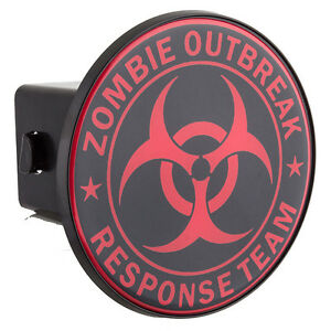 Triktopz Hitch Cover 2 Inch Hitch Zombie Outbreak Response Team
