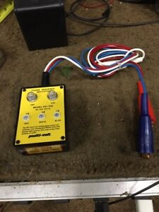 Avo Multi volt Phase Sequence Indicator Model Psi 700 W Case And Leads