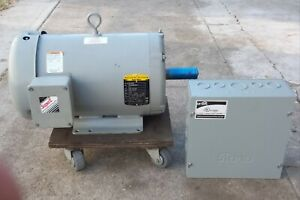 10hp Rotary Phase Converter With A New Baldor Idler local Pick Up Only