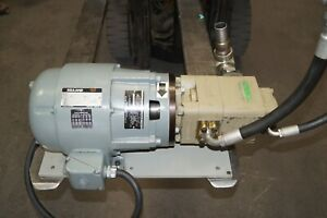 Imo Hydraulic 4000 Psi 12 2 Gpm Pump With Reuland Motor 3ph 42032 22005rip