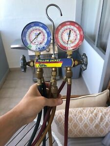 Yellow Jacket Test And Charging Manifold 60 R 410a R 404a R 22