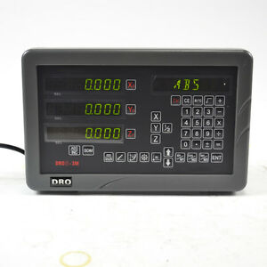 Sinpo 3 axis Digital Readout Dro Linear Glass Scale For Mill Milling Machine