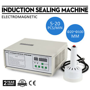 Induction Sealing Machine 20 100mm Safe Use Control Quantity Electromagnet
