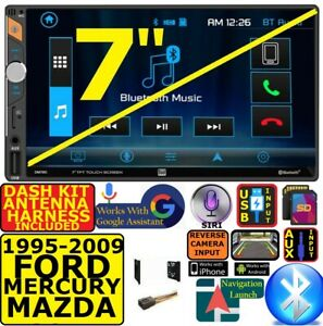 Ford Mercury Mazda Touchscreen Bluetooth Usb Sd Aux Car Radio Stereo Package