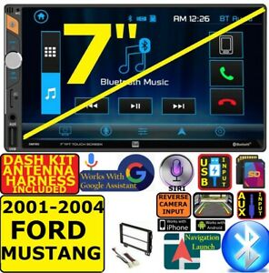 2001 2004 Ford Mustang Bluetooth Touchscreen Usb Sd Aux Car Radio Stereo Package