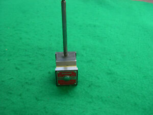 Starrett 657 Magnetic Indicator Base With Smaller Post