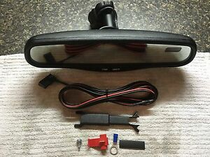 Gentex 177 Auto Dimming Mirror Kit W Amber Compass Display Wire Harness