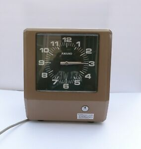 Vintage Amano Punch Time Clock Model 6807