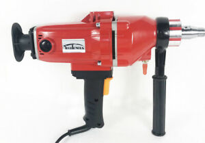 Diamond Core Drill Concrete Machine With Stand Engineering Building Rig 220v New