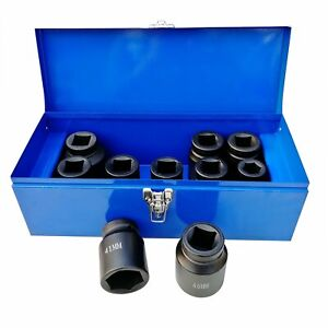 1 Inch Drive Deep Impact Socket Set 22 50mm Hgv Long Reach Impact Sockets