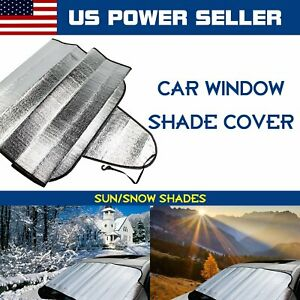 Windshield Protection Car Parts Cover Uv Snow Dust Rain Resistant Waterproof