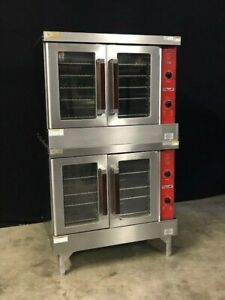 Vulcan Double Stack Convection Ovens vc4ed 10