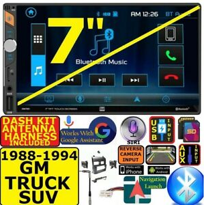 1988 1994 Gm Suv Full Size Truck Bluetooth Usb Sd Aux Car Radio Stereo Package
