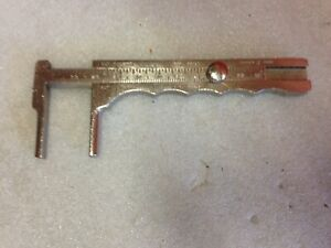 Zimmer 3895 100 Mm 4 Germany Stainless Surgical Caliper 46b