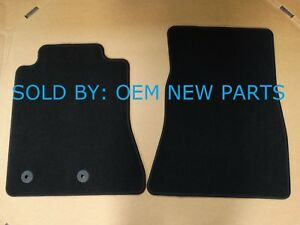 2015 2018 Ford Mustang Front Carpet Floor Mats Black Oem New Front Set Only