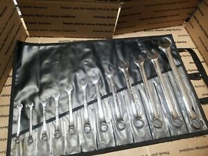 Sk S K Superkrome 12pc Sae Combo Box Wrench Set 5 16 To 1 Usa Quality Look
