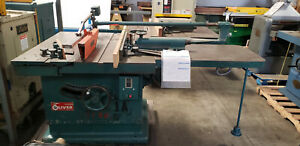 Oliver 88 du 16 Tilting Arbor Table Saw woodworking Machinery