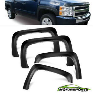 For 2007 2013 Chevy Silverado 1500 2500hd 3500hd Oe Factory Style Fender Flares