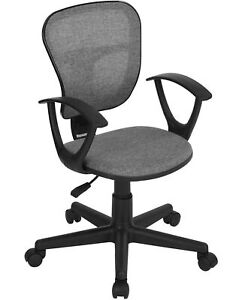 Coavas Kids Desk Chair Mid back Mesh Task Study Chair Adjustable Height Ergon