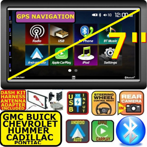 Gm Car Truck Van Suv Apple Carplay Android Auto Usb Bluetooth Touchscreen Pkg
