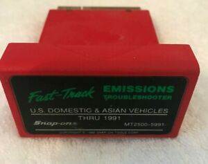Snap On Mt2500 5991 Emissions Troubleshooter U S Dom Asian Thru 1991 Cartridge