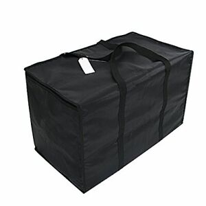 Insulated Nylon Heated Pizza food Delivery Bag Black Food Packing Nylon Bag B