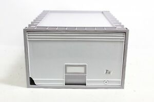 Storex 24 inch Archive Locking Storage Box For Legal Size Files Two Preowned