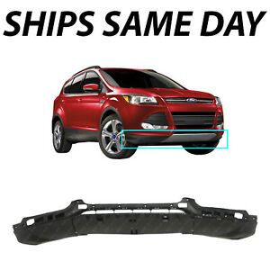 New Textured Black Front Bumper Lower Valance For 2013 2016 Ford Escape 13 16