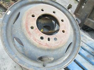 Dodge 3500 1 Ton 2000 Oem Steel 8 Lug 16 X 6 Rim Dual Wheel Used 6 Hand Hole