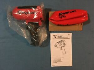 New Snap on 3 4 Drive Super Duty Magnesium Air Impact Wrench Mg1250 Open Box