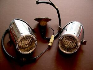 1959 Pair Buick Back Up Lights Electra Lesabre Invicta Rare Hard To Find