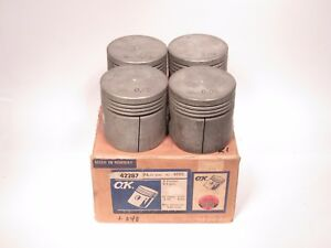 Engine Piston Set 040 Oversize Fits Austin Maxi 1500 1968 1981 4003 040