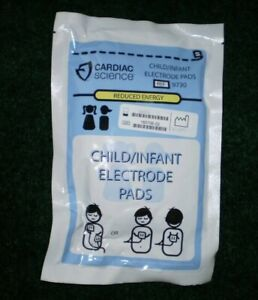 Cardiac Science Powerheart G3 Child Aed Pads electrodes Training